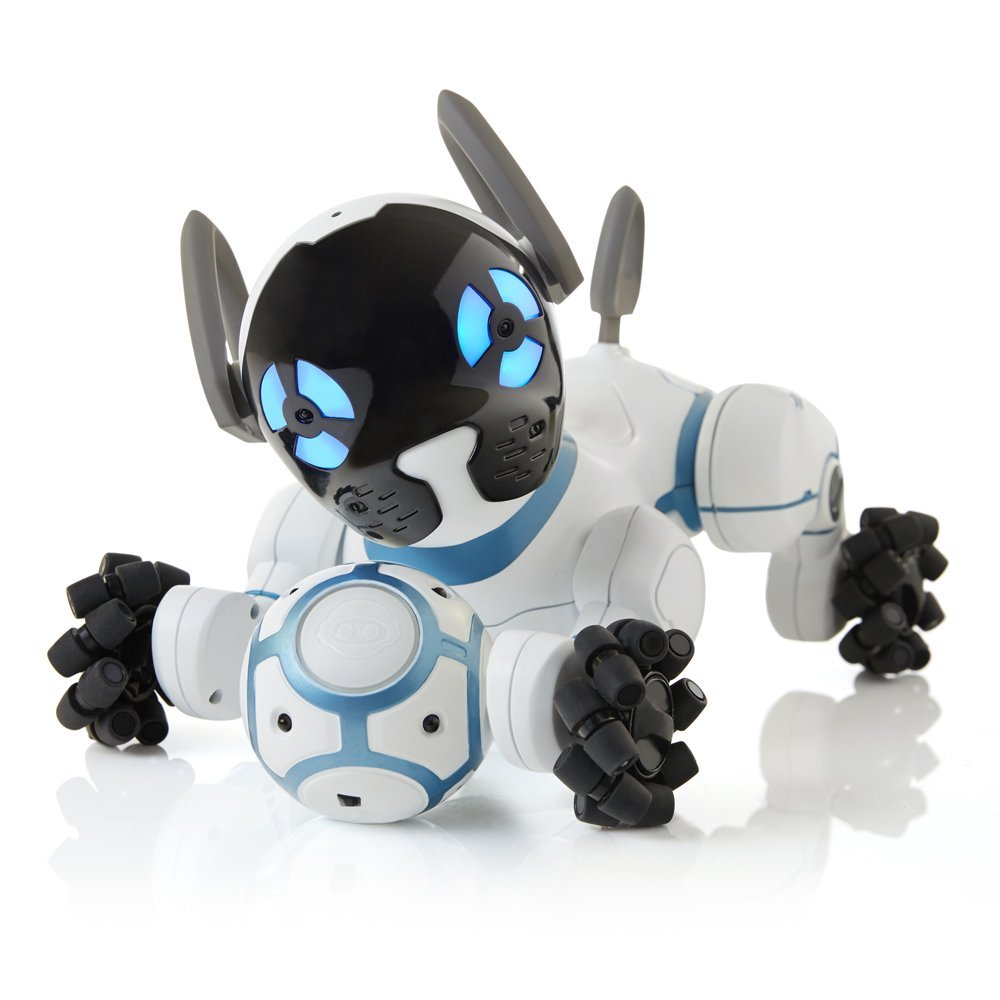 chip robot dog with ball
